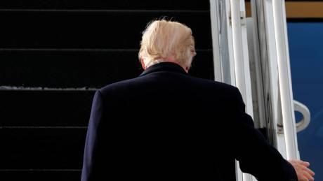 Ο άνεμος αποκαλύπτει το «μυστικό» του Ντόναλντ Τραμπ (vid)
