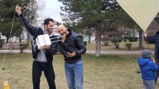 Το κουλούρι Θεσσαλονίκης που ταξίδεψε από την Πτολεμαΐδα στην Καβάλα μέσω… στρατόσφαιρας
