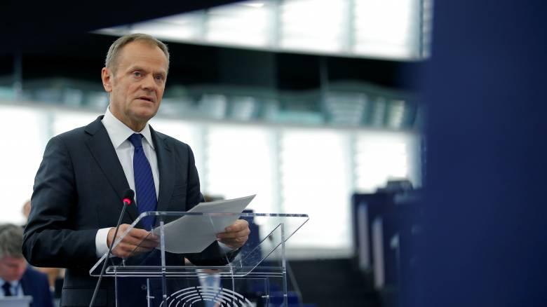 Ο Τουσκ χαιρετίζει τη σύναψη κυβερνητικού συνασπισμού στη Γερμανία