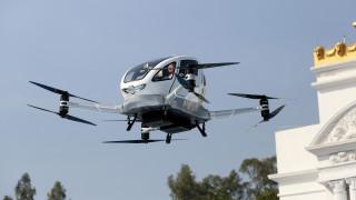 Παρθενική πτήση για το πρώτο επιβατικό drone