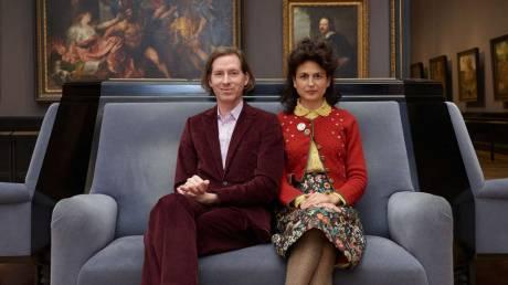 Ο Γουές Άντερσον και η βικτοριανή κυρία του επελαύνουν σε μουσείο στη Βιέννη