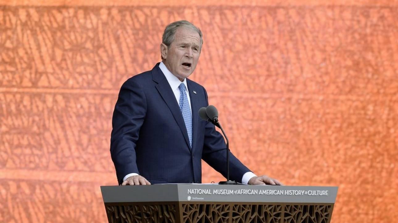 Μπους: Η Ρωσία αναμείχθηκε στις εκλογές των ΗΠΑ - Αυτό είναι επικίνδυνο για τη δημοκρατία