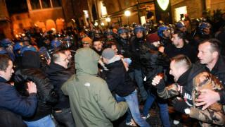 Ιταλία: Συγκρούσεις μεταξύ μελών ακροδεξιάς οργάνωσης με την αστυνομία στη Ματσεράτα