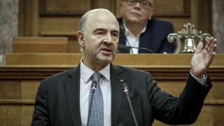 Μοσκοβισί: Η Ελλάδα βγαίνει από την κρίση χωρίς 4ο μνημόνιο
