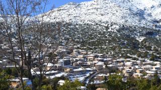 Περιορισμένη η χιονοκάλυψη της Ελλάδας φέτος