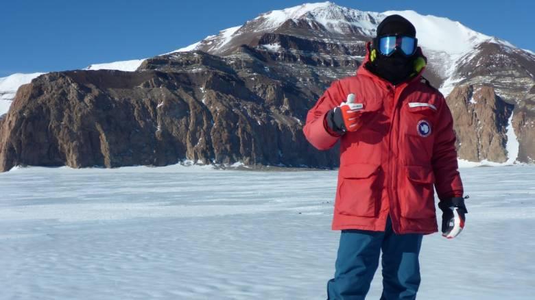 Τι έφερε από την Ανταρκτική ο Έλληνας γεωλόγος Γ. Μπαζιώτης που βρέθηκε σε αποστολή της NASA