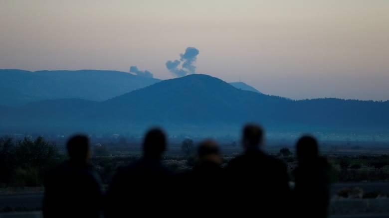Τουρκικό στρατιωτικό ελικόπτερο καταρρίφθηκε στη Συρία