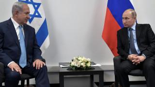 Τηλεφωνική επικοινωνία Νετανιάχου - Πούτιν για την κατάσταση στη Συρία