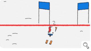 Χειμερινοί Ολυμπιακοί Αγώνες 2018: Μια πολική αρκούδα-σκιέρ στη σημερινό doodle της Google