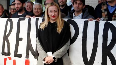 Τζόρτζια Μελόνι, η επικεφαλής της ιταλικής ακροδεξιάς που ονειρεύεται να γίνει πρωθυπουργός