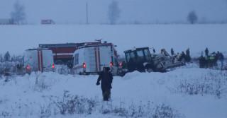 Συντριβή ρωσικού αεροσκάφους: Βρέθηκε το μαύρο κουτί - Σε εξέλιξη οι έρευνες