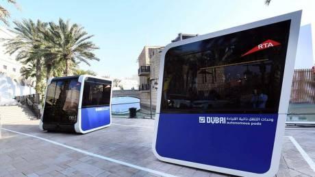 Δοκιμές ηλεκτροκίνητων λεωφορείων χωρίς οδηγό στο Ντουμπάι