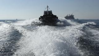 Στη ναυπηγοεπισκευαστική βάση του Λιμενικού στην Ελευσίνα το πλοίο που εμβολίστηκε