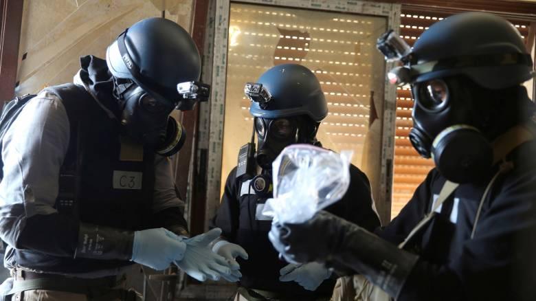 Η Δαμασκός εξακολουθεί να αρνείται ότι κατέχει και χρησιμοποιεί χημικά όπλα