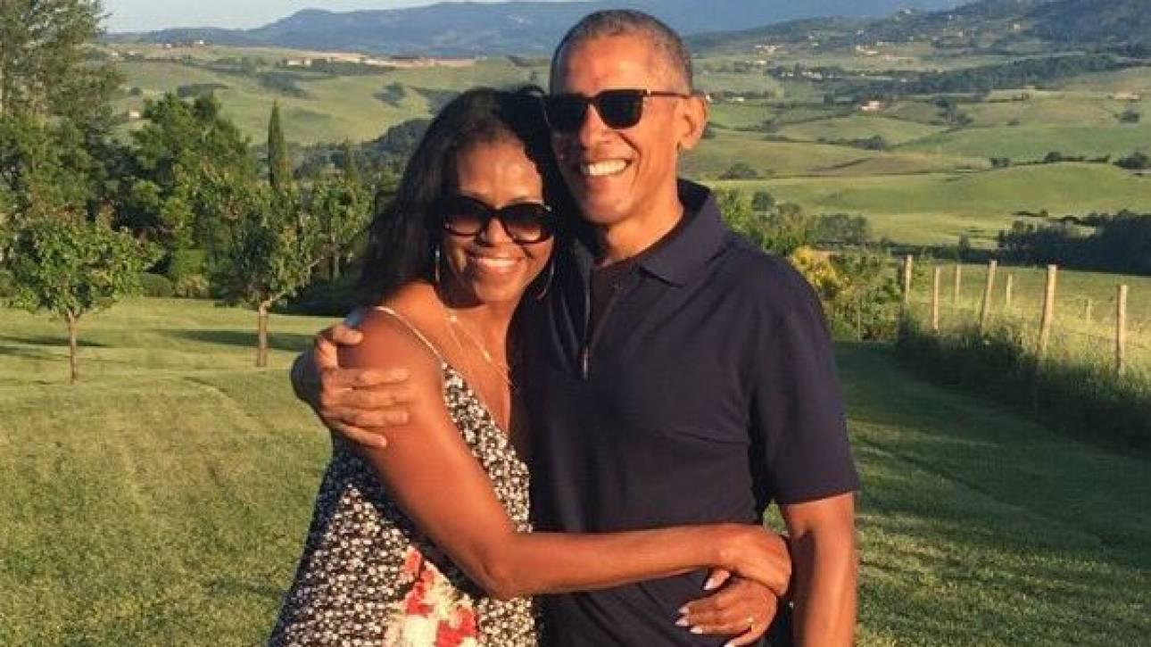 Άγιος Βαλεντίνος: Οι ευχές που αντάλλαξαν Μπαράκ και Μισέλ Ομπάμα