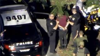 Πυροβολισμοί σε σχολείο της Φλόριντα: Η στιγμή της σύλληψης του δράστη