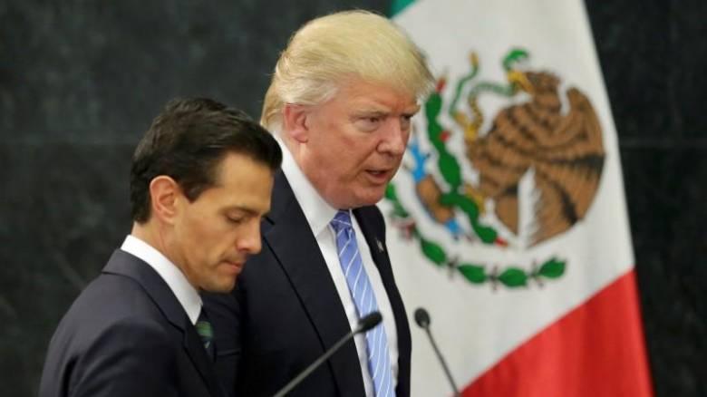 Στο ίδιο τραπέζι ΗΠΑ και Μεξικό: Συνάντηση Τραμπ με Νιέτο τις επόμενες εβδομάδες