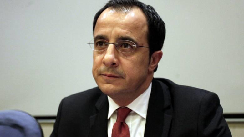 Χριστοδουλίδης: Ο τερματισμός των προκλητικών ενεργειών, προαπαιτούμενο για τον διάλογο