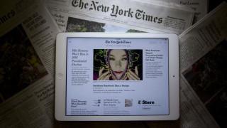 New York Times: το τέλος των εφημερίδων είναι αναπόφευκτο
