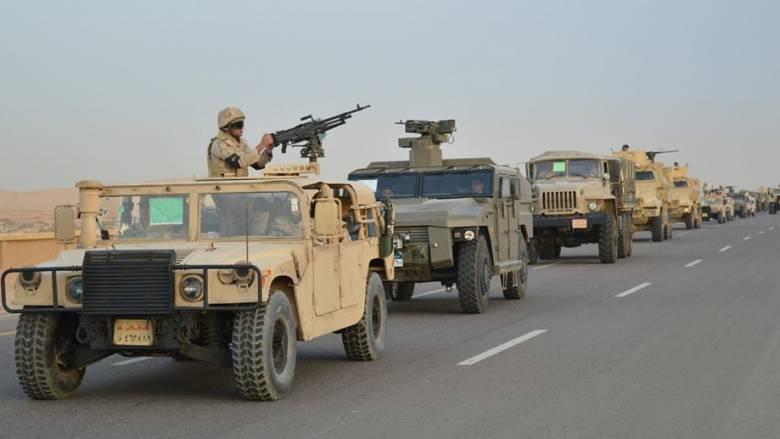Αίγυπτος: 53 τζιχαντιστές έχουν σκοτωθεί κατά την στρατιωτική επιχείρηση στο Σινά