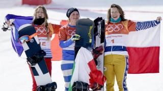 Χειμερινοί Ολυμπιακοί Αγώνες: Στην κορυφή του Snowboard Cross η Μοϊόλι (pics)