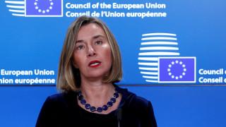 Κυπριακό: Την ανάγκη επανέναρξης των διαπραγματεύσεων, επισημαίνει η Μογκερίνι