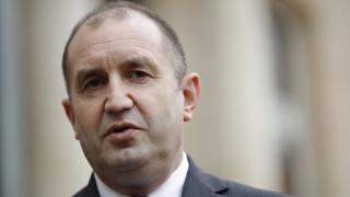 Πρόεδρος Βουλγαρίας: Η λύση στο ονοματολογικό της πΓΔΜ να μην περιλαμβάνει εδάφη μας