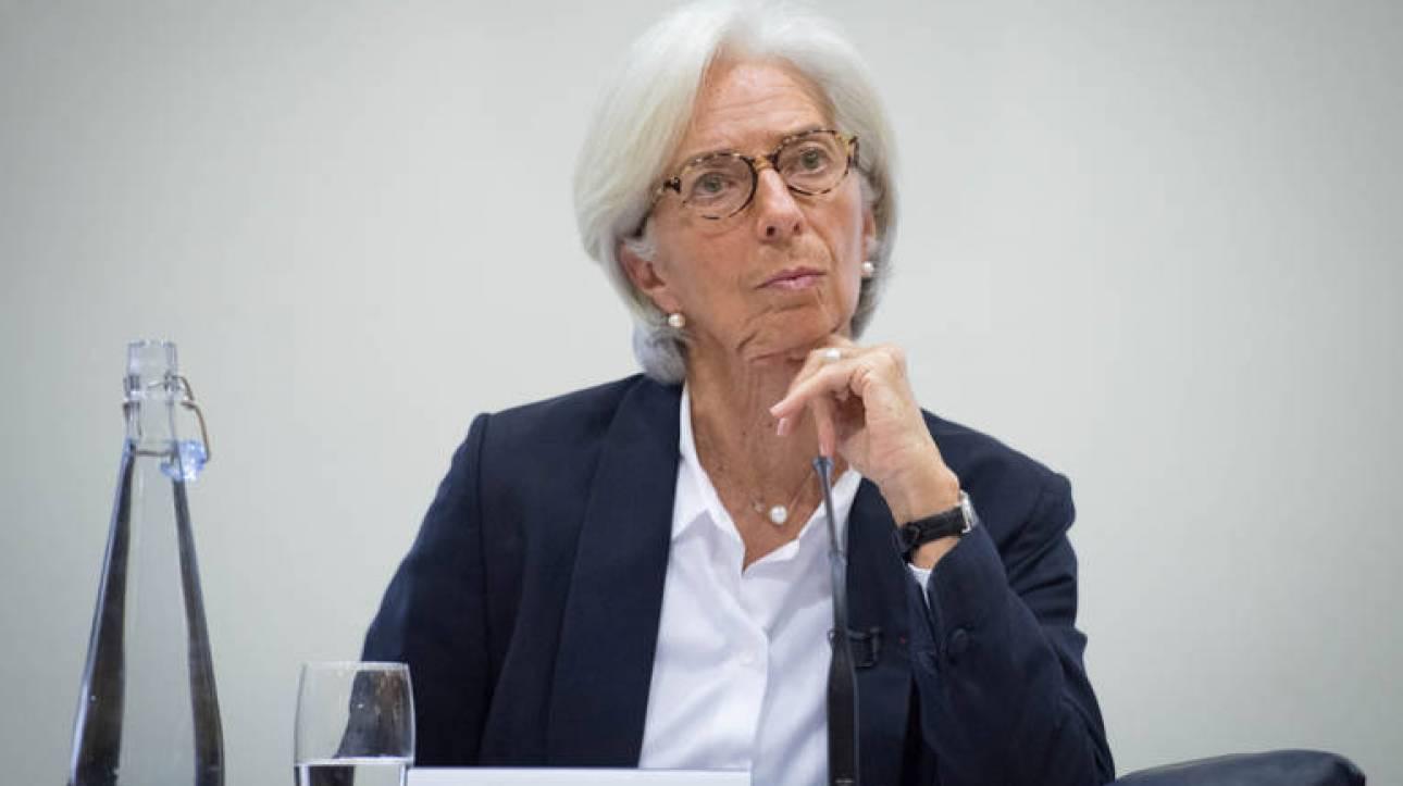 """Κρ. Λαγκάρντ: """"Η Ελλάδα θα παραμείνει υπό επιτήρηση, καθώς θα πρέπει να τηρηθούν τα συμφωνηθέντα"""""""