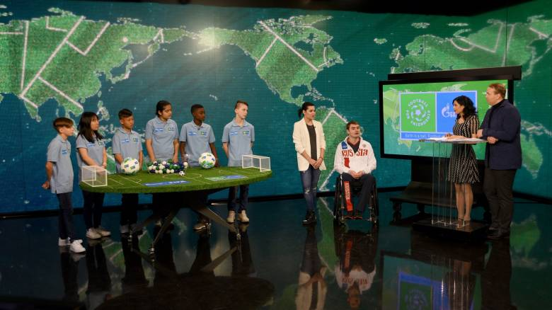 Football 4 Friendship: Ενώνει παιδιά από 211 χώρες το Διεθνές Πρόγραμμα της Gazprom