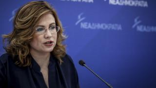 Σπυράκη: Η κυβέρνηση επιδιώκει τη σπίλωση των πολιτικών της αντιπάλων