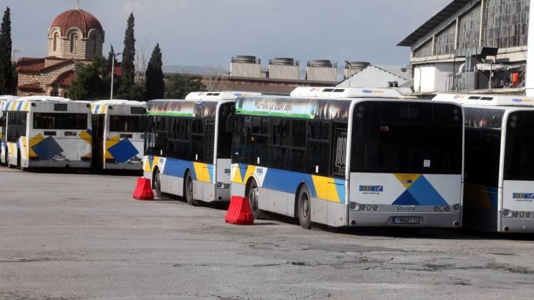 Στάση εργασίας των λεωφορείων την Τρίτη