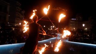 Απόκριες 2018: Εντυπωσιακές εικόνες από τη νυχτερινή καρναβαλική γιορτή του Άργους