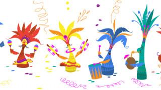 Αφιερωμένο στις Απόκριες το σημερινό Doodle της Google