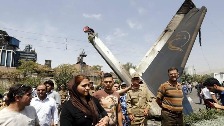 Αναφορές για συντριβή επιβατικού αεροσκάφους στο Ιράν