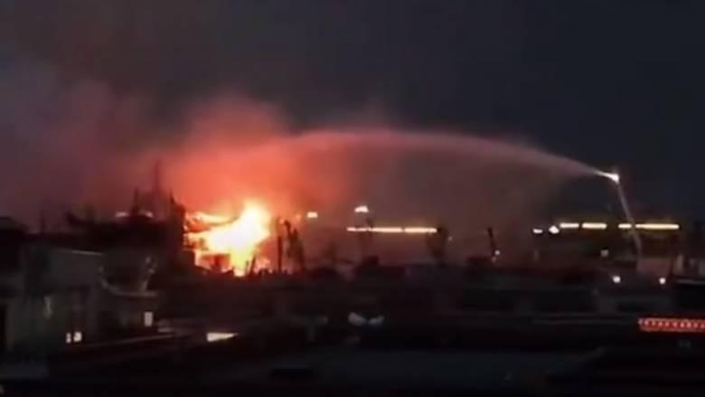 Κίνα: Πυρκαγιά έπληξε ιερό χώρο του θιβετιανού Βουδισμού
