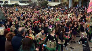 Απόκριες 2018: Ξεκίνησε η μεγάλη παρέλαση του πατρινού καρναβαλιού