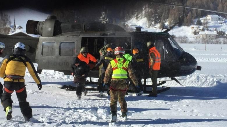 Ελβετία: Δύο τραυματίες μετά από χιονοστιβάδα