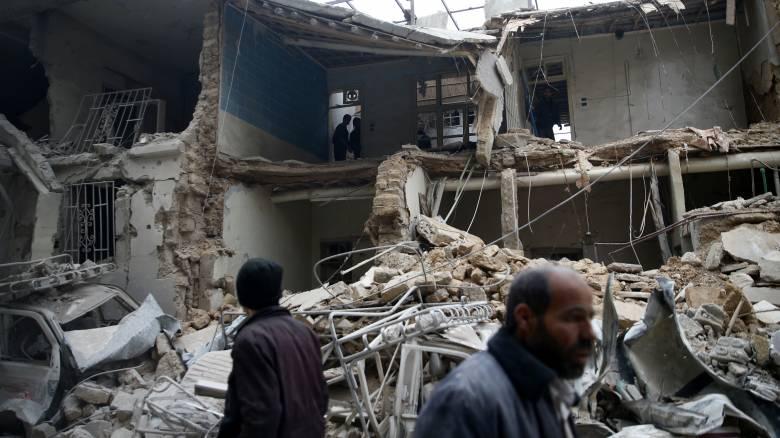 Ανατολική Γούτα: Τουλάχιστον 18 άμαχοι νεκροί από βομβαρδισμούς