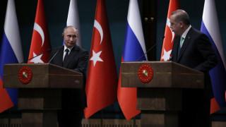 Ερντογάν - Πούτιν συζήτησαν για την κατάσταση στο Αφρίν και το Ιντλίμπ