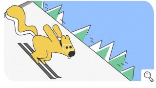 Χειμερινοί Ολυμπιακοί Αγώνες 2018: Ένας «ιπτάμενος» σκίουρος πρωταγωνιστεί στο Doodle της Google