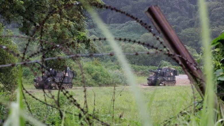 Προχωρούν οι συνομιλίες για τη διεξαγωγή των στρατιωτικών γυμνασίων ΗΠΑ-Νότιας Κορέας