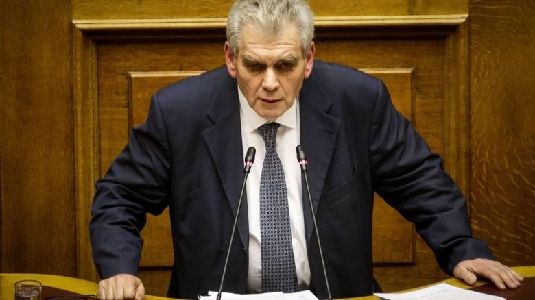 Παπαγγελόπουλος: Εμμονές και εμφυλιοπολεμικά σύνδρομα ο κ. Σαμαράς