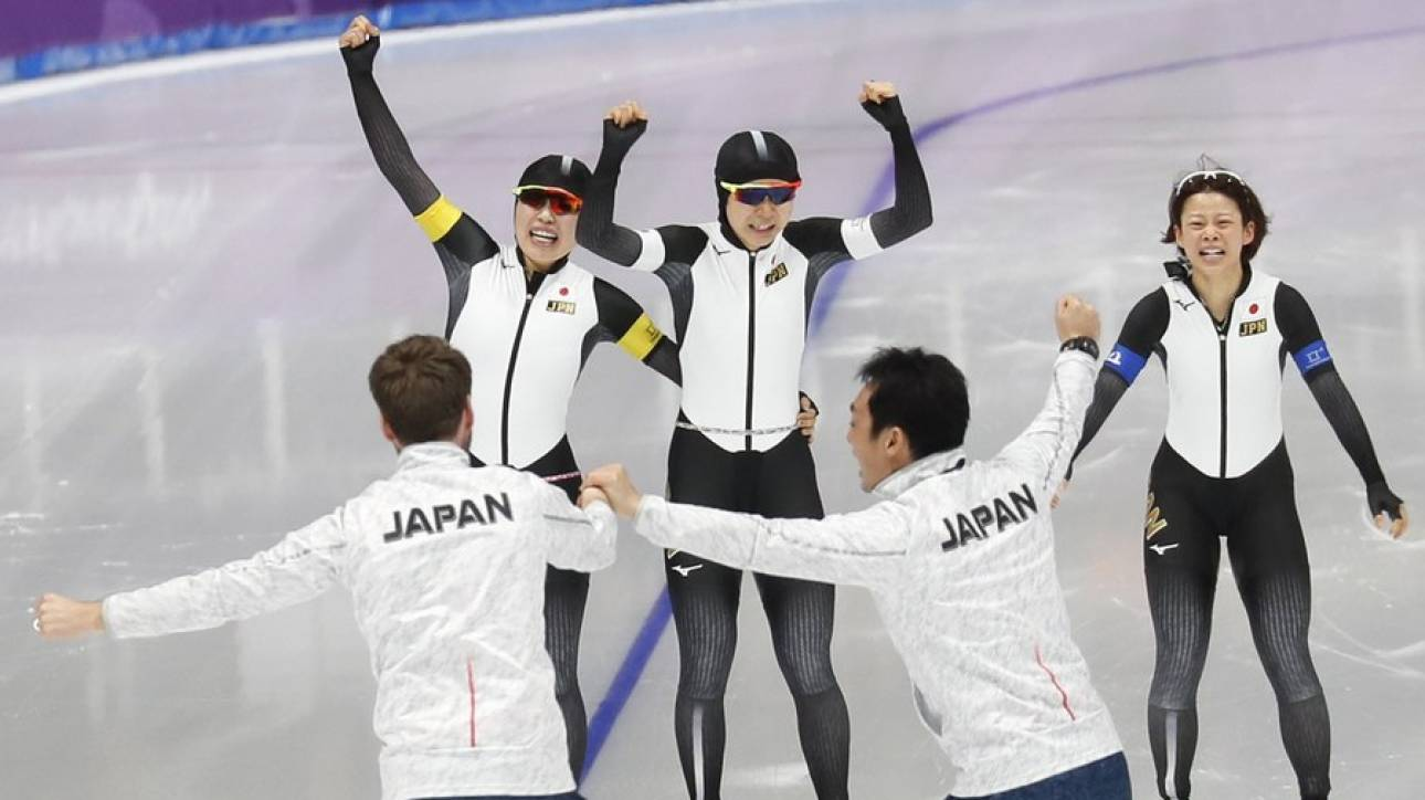 Χειμερινοί Ολυμπιακοί Αγώνες: Χρυσό με ρεκόρ η Ιαπωνία (pics)