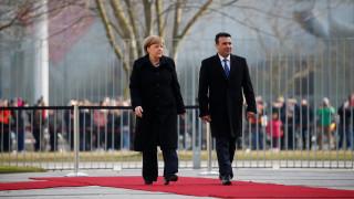 Μέρκελ: Προϋπόθεση για την ένταξη της πΓΔΜ στην ΕΕ είναι οι μεταρρυθμίσεις
