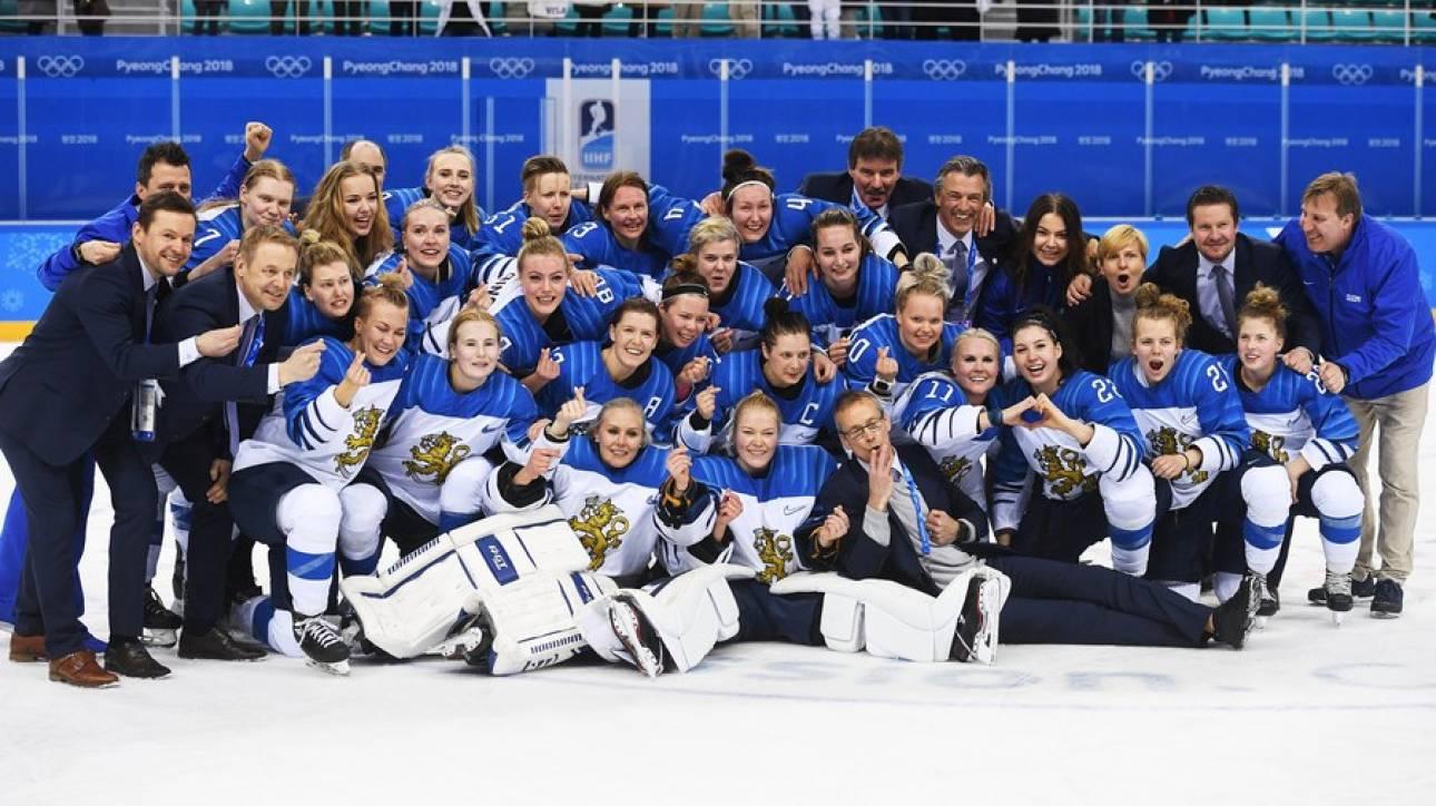 Χειμερινοί Ολυμπιακοί Αγώνες: Χάλκινο μετάλλιο στο χόκεϊ η Φινλανδία (pics)