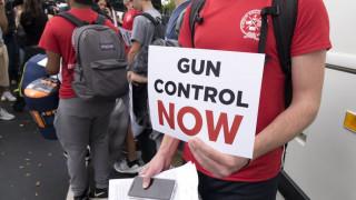 Μαθητική διαδήλωση στη Φλόριντα κατά της οπλοκατοχής