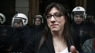 Δράση κατά των πλειστηριασμών από τη Ζωή Κωνσταντοπούλου