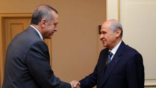 Τουρκία: Συμμαχία Ερντογάν-Μπαχτσελί ενόψει των εκλογών του 2019