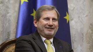Χαν: Μέχρι το καλοκαίρι η πρόταση για έναρξη ενταξιακών διαπραγματεύσεων με Αλβανία και πΓΔΜ