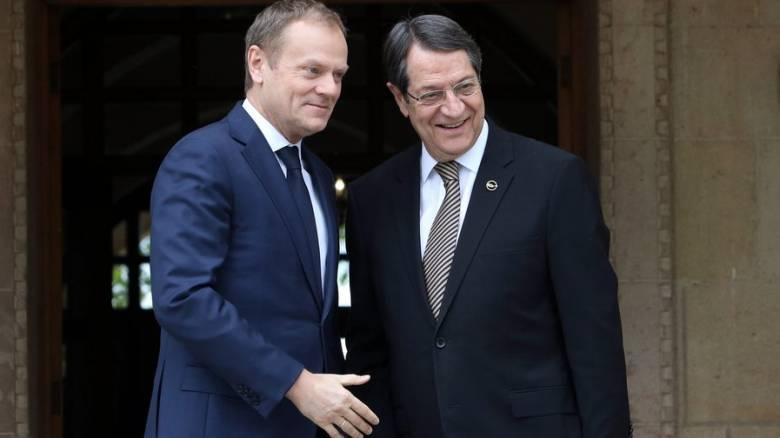 Τουσκ: Η ΕΕ πρέπει να αντιδράσει στις ενέργειες της Τουρκίας στην κυπριακή ΑΟΖ